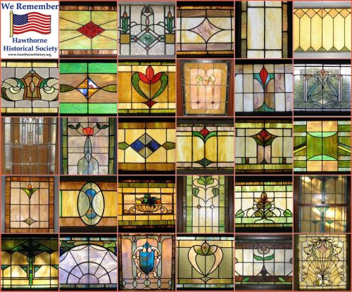Stained Glass Windows of Hawthorne