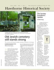 Historical Society Newsletter - Volume 1, No. 1